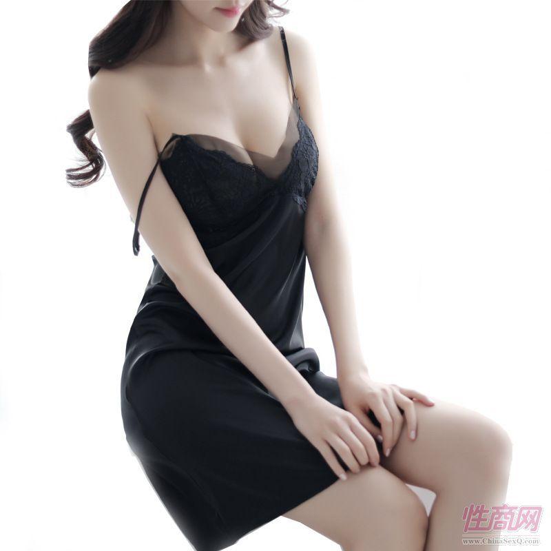 吊带睡裙性感女睡衣外贸款透明情趣内衣代发