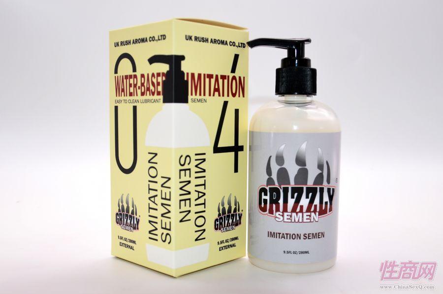 唯有度Grizzly棕熊人体仿精液进口润滑油剂男女男同志用品 gay成人用品5