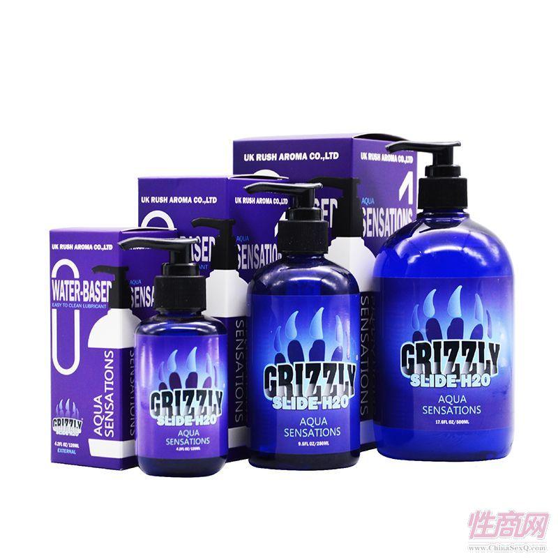 Grizzly棕熊进口人体润滑剂500ml润滑油成人男女用润滑液情趣