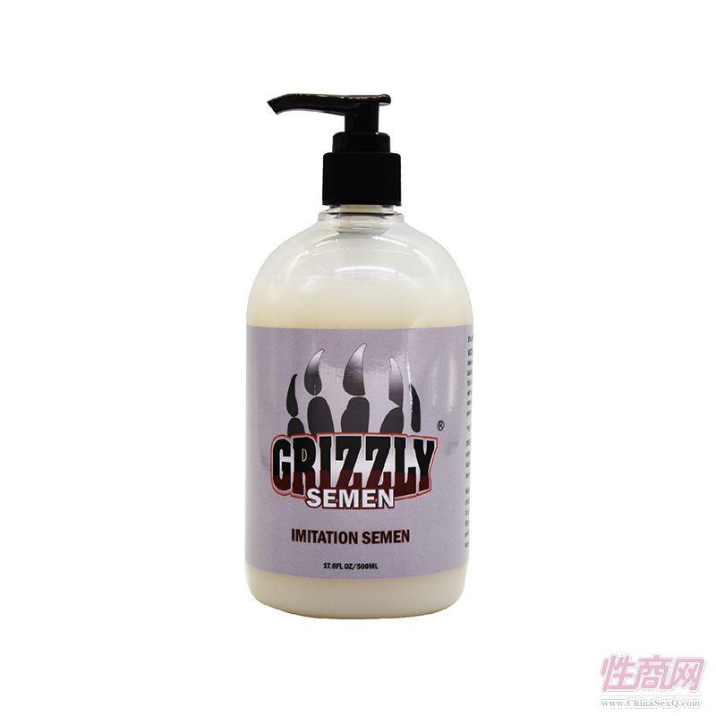 Grizzly棕熊进口人体润滑剂仿真精液润滑油男女活塞私处润滑2