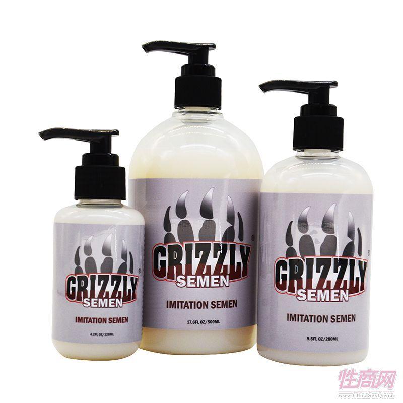 Grizzly棕熊进口人体润滑剂仿真精液润滑油男女活塞私处润滑3