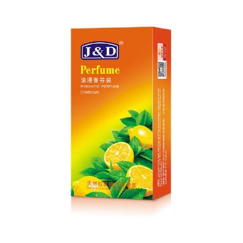 J&D时尚系列10只装浪漫香氛避孕套-安全套