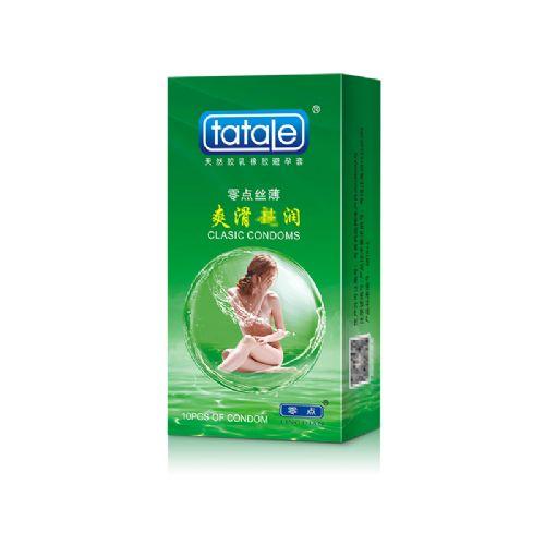 tatale 10只装爽滑超润避孕套-安全套