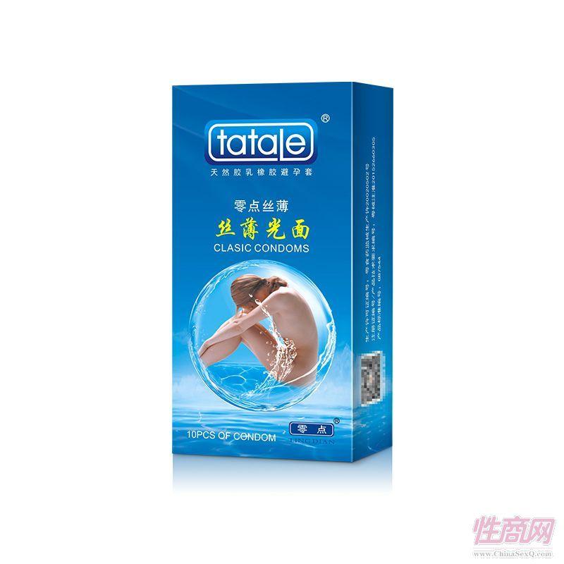 tatale 10只装丝薄光面避孕套-安全套