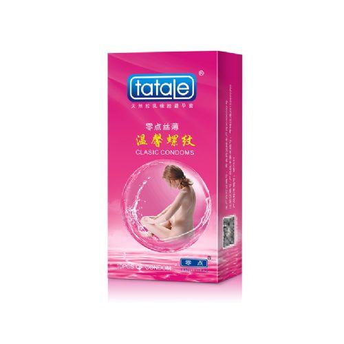 tatale 10只装温馨螺纹避孕套-安全套