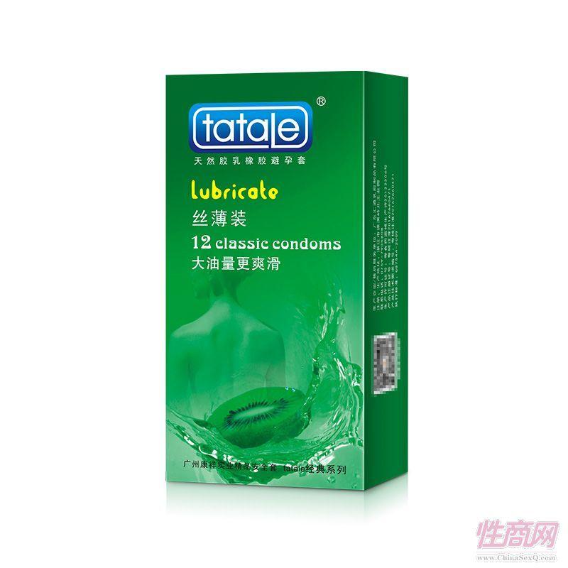 tatale 12只装丝薄装避孕套-安全套