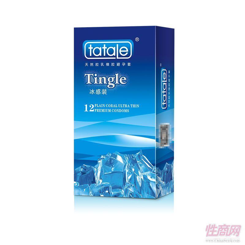 tatale 12只装冰感避孕套-安全套