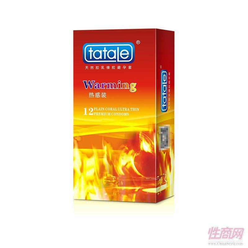 tatale 12只装热感避孕套-护理用品-安全套