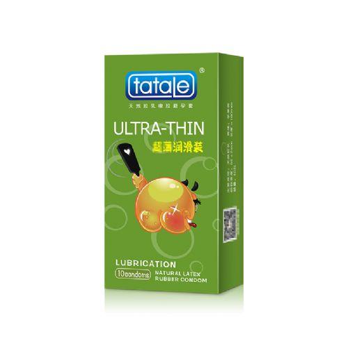 tatale 10只装卡通系列超薄润滑避孕套-安全套