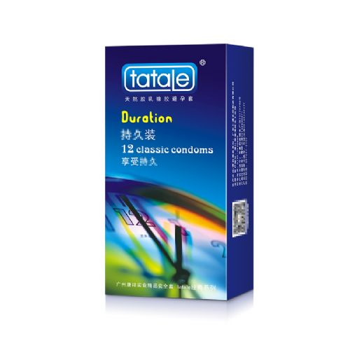 tatale 12只装超凡避孕套-安全套