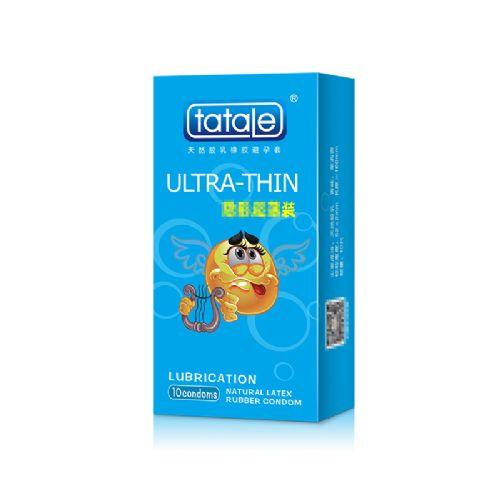tatale 10只装卡通系列隐形超薄避孕套-安全套