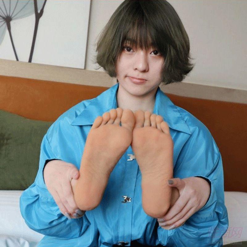 御宅绅士仿真脚模真人倒模1比1足部模型模特恋足腿模玩具足控恋物癖