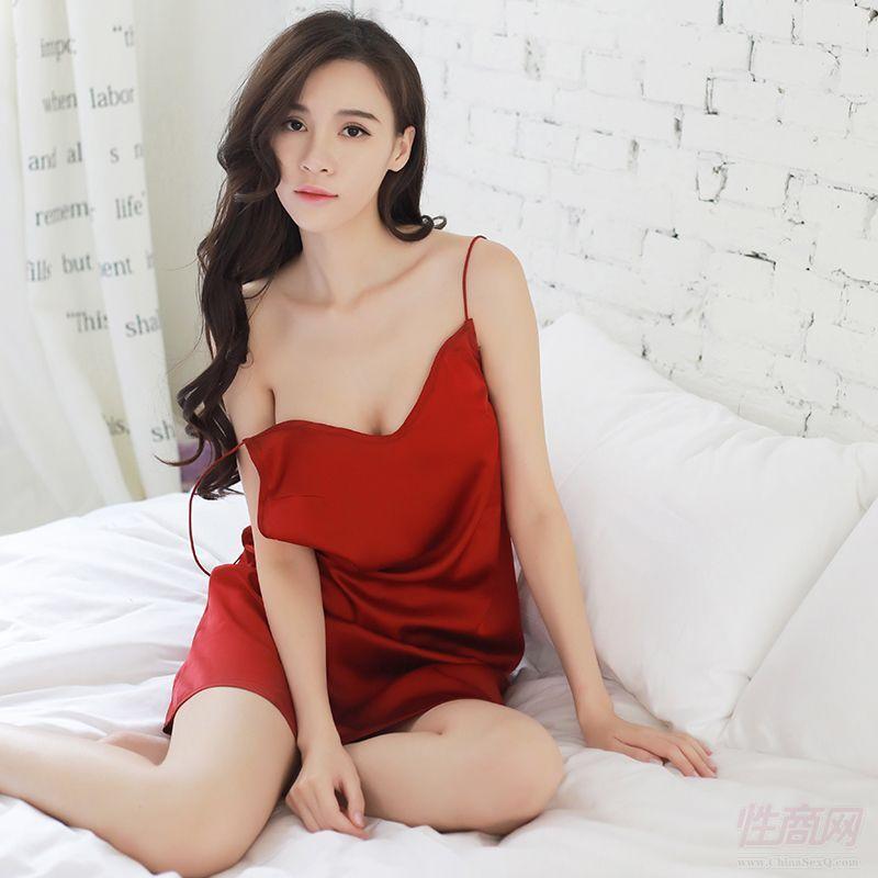 夜火诱惑性感红色睡裙情趣内衣7010