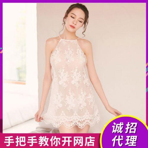情趣内衣网纱蕾丝激情绣花家居套装女情趣用品招商