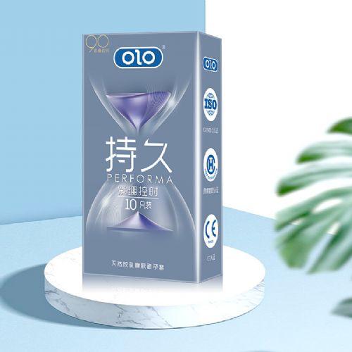 OLO安全套超薄颗粒螺纹10只装情趣用品成人用品