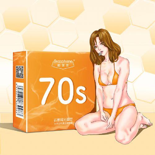 避孕套润滑安全套格莱菲情趣用品导热石墨烯柔韧
