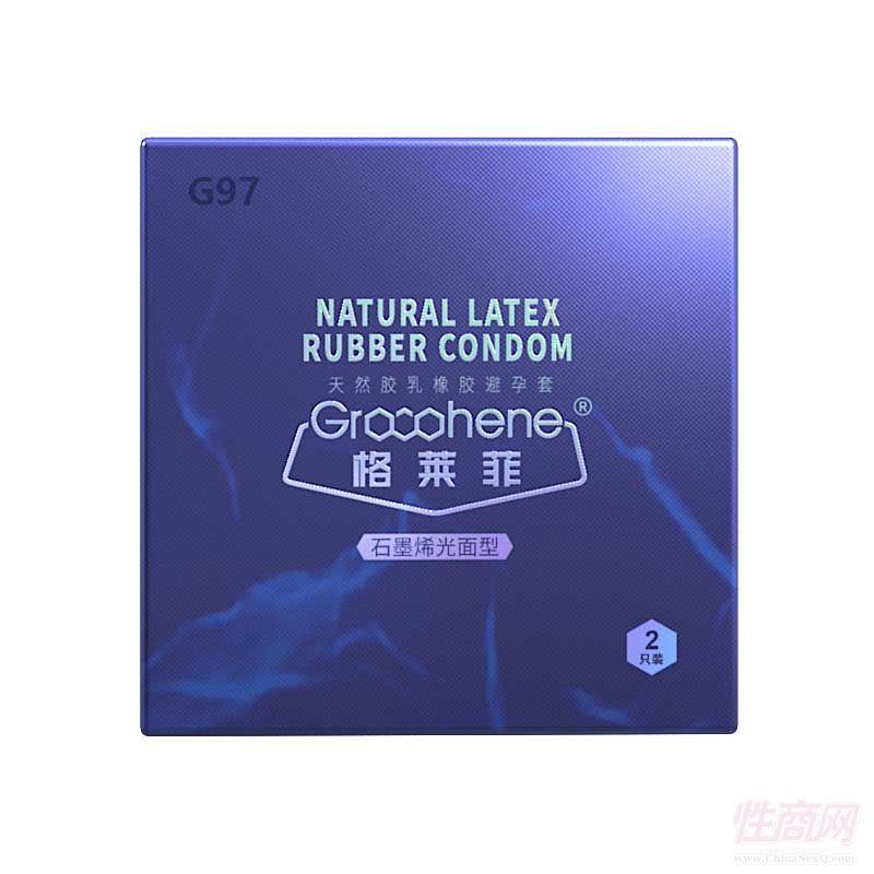 格莱菲安全套情趣用品避孕套高阻隔远红外超润滑强柔韧