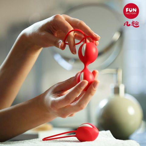 德国FunFactory智能训练球 双球-红色