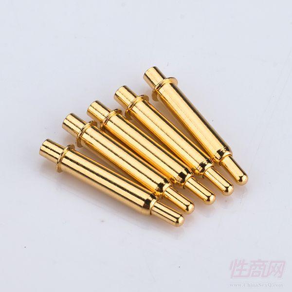 充顶针 弹簧针 弹簧顶针 电极
