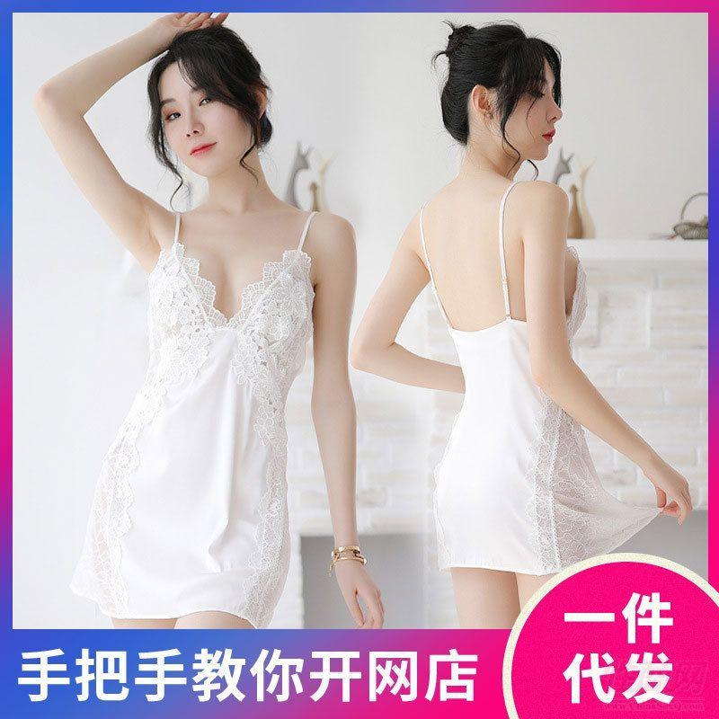 情趣内衣小胸诱惑激情套装透视冰丝性感睡衣成人情趣用品招商加盟