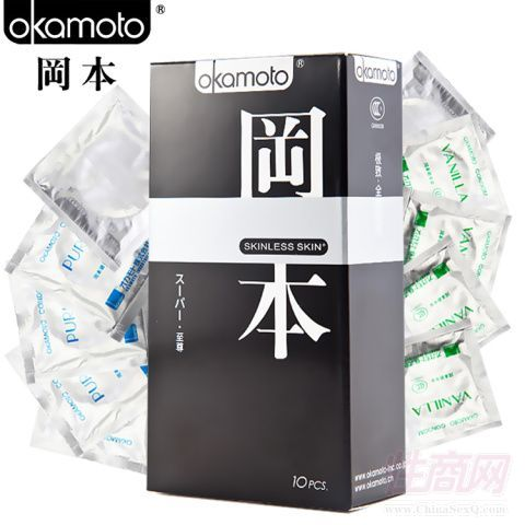 冈本(Okamoto)至尊三合一安全套10只装