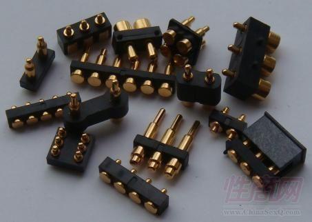pogopin充电针 弹簧针 车削件  数控车床件