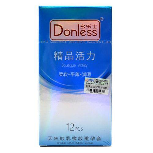 厂家代发多乐士精品活力12只装天然胶乳橡胶避孕套