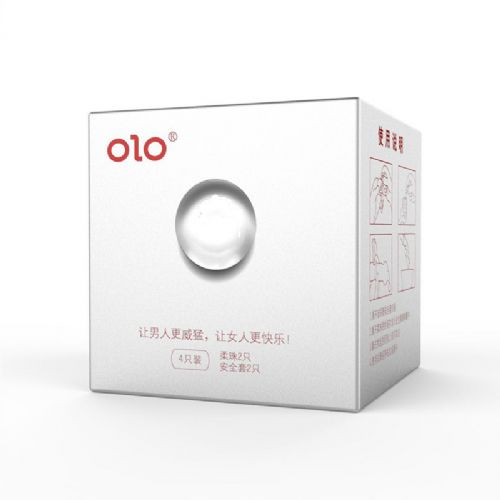 OLO柔珠避孕套SPA珠颗粒G点玻尿酸超薄安全套