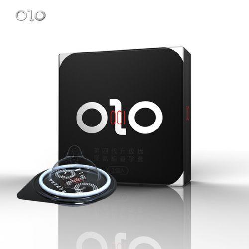 正品OLO聚氨酯避孕套001 002 003白金超薄安全套