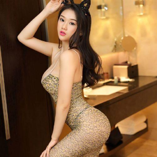 情趣内衣女式吊带性感豹纹连身衣开档连体成人用品代理