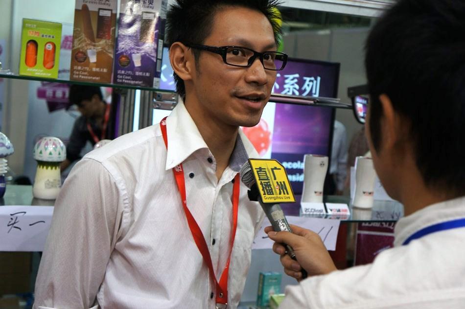 电视台《广州直播》栏目组采访性商