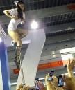 高难度钢管舞表演