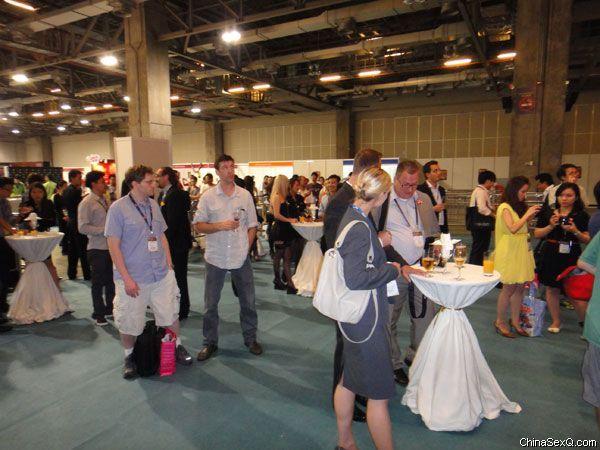 2012澳门亚洲成人博览_欢迎酒会及表演图片2