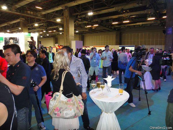 2012澳门亚洲成人博览_欢迎酒会及表演图片1