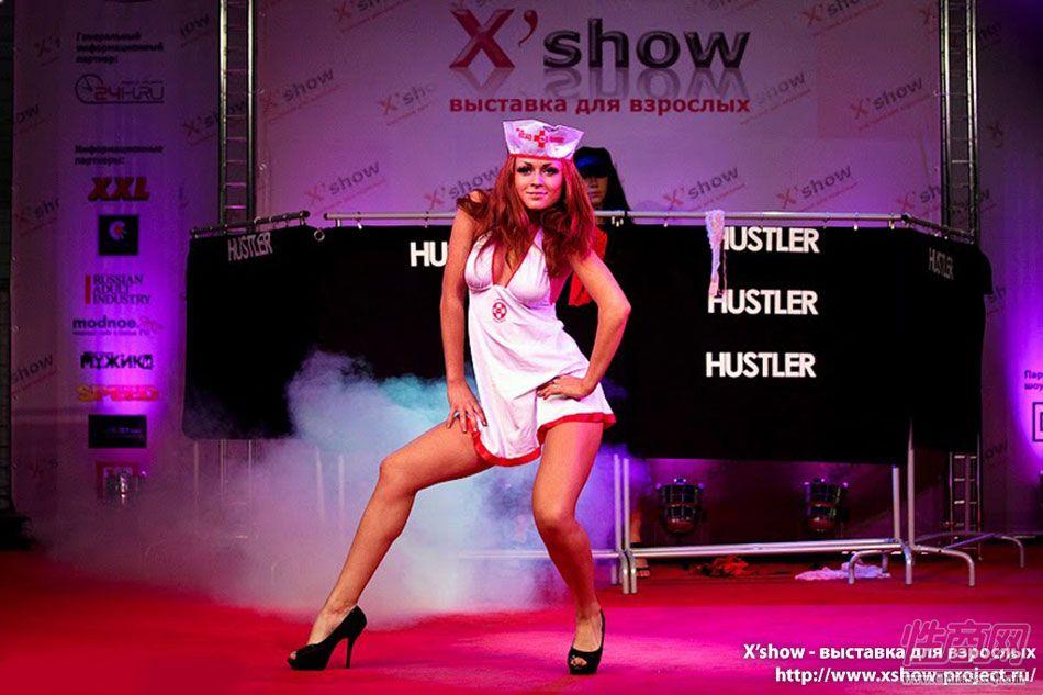 2011俄罗斯成人展香艳舞台图片13