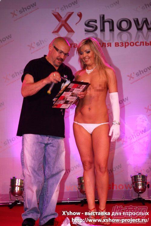 2011俄罗斯成人展香艳舞台图片59