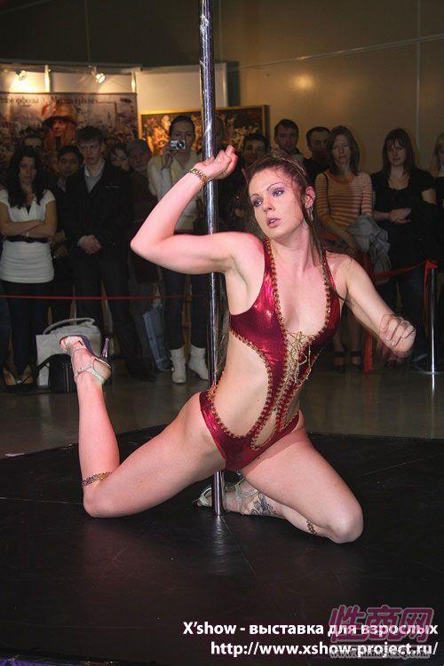 2011俄罗斯成人展钢管舞蹈图片31