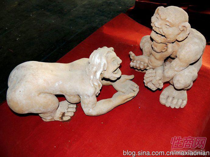 化节于庆成泥塑作品