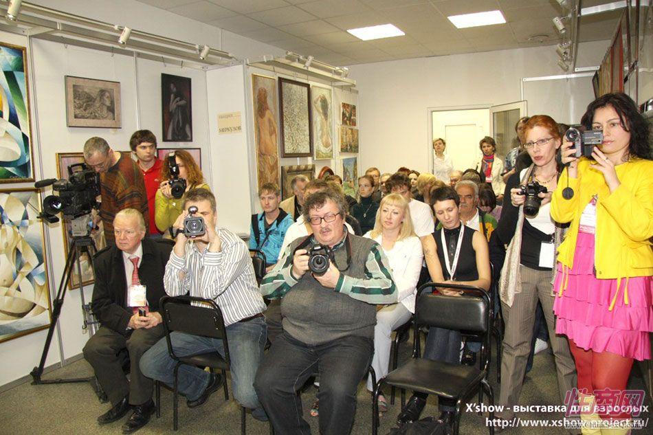 2010俄罗斯成人展情趣研讨会图片5