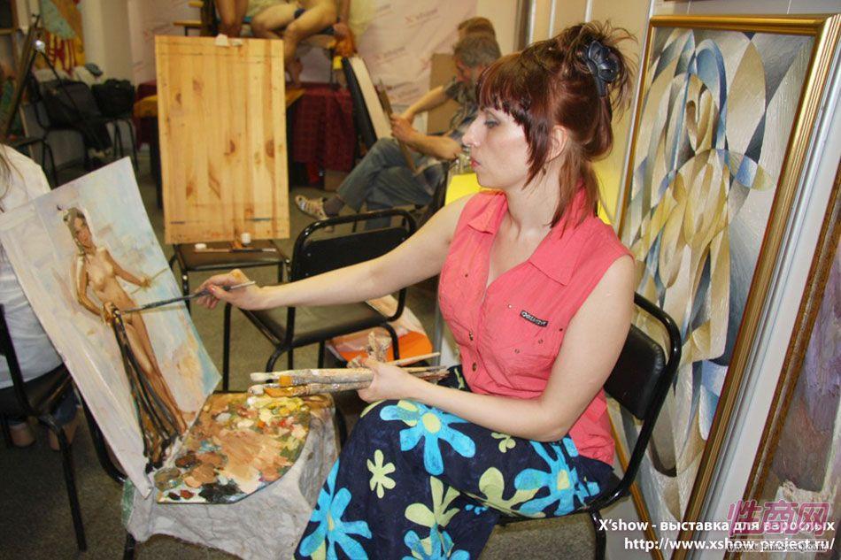 2010俄罗斯成人展艺术沙龙图片14