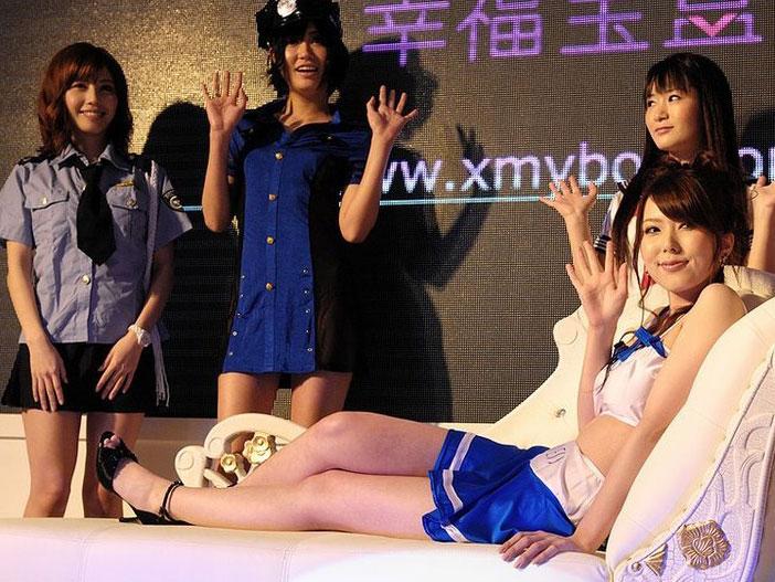 波多野结衣参加上海成人展