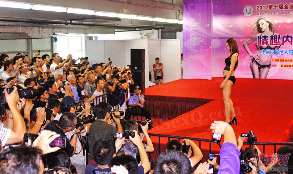 2012广州性文化节情趣内衣秀高清大图图片1