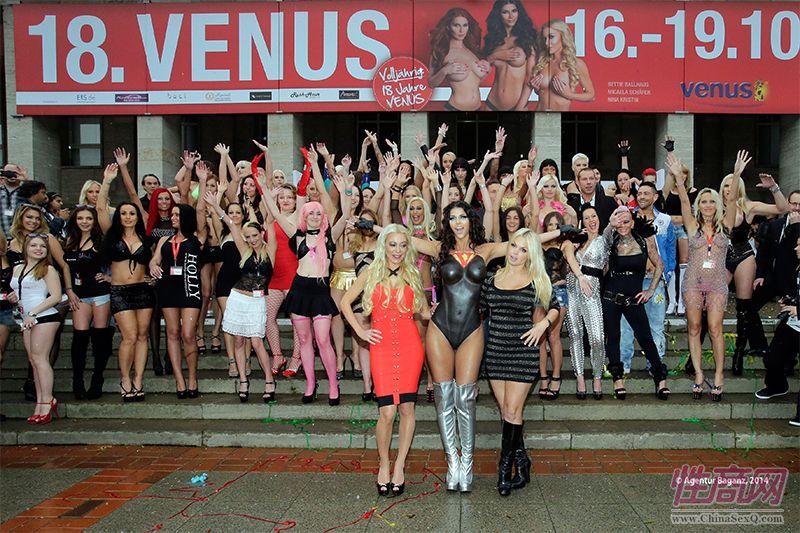 2014柏林成人展VENUS盛大开幕,全球情趣用品B2B行业盛会