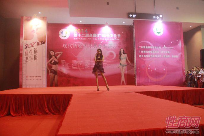 2014广州性文化节现场报道―情趣内衣秀图片2