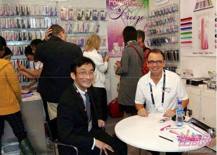 枕边游戏蔡总参加了2008首届亚洲成人博览
