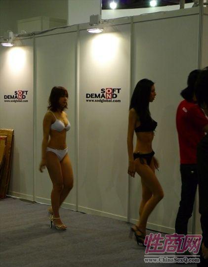 2009亚洲成人博览特邀日本AV女优参展图片5