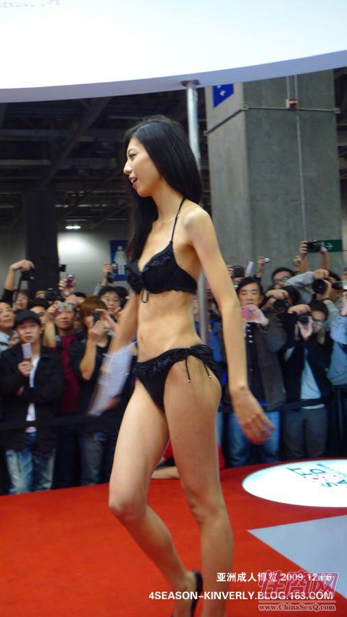 2009亚洲成人博览特邀日本AV女优参展图片16