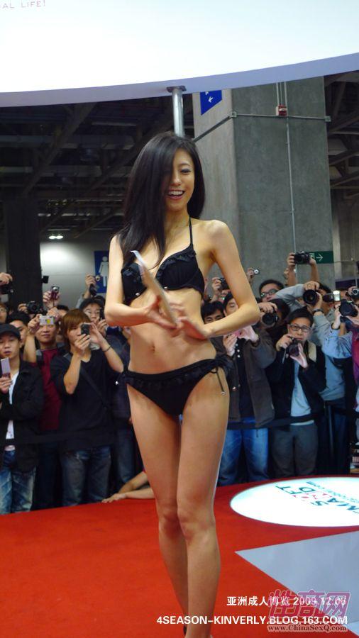 2009亚洲成人博览特邀日本AV女优参展图片18