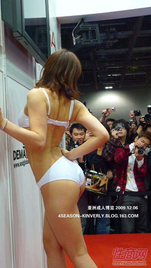 2009亚洲成人博览特邀日本AV女优参展图片20