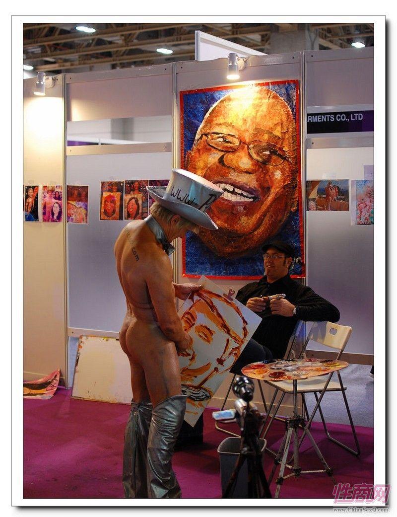 2009亚洲成人博览AAE现场报道―绘画表演图片2